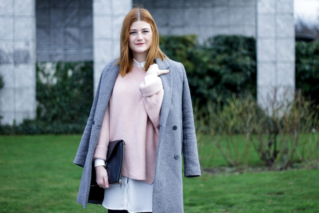 Jessika Fashion Layering Culottes Fashion Blog Blogger Style Blog Pastel Oversitze Zara Booties Stiefeletten Culotte Promod Mango_-3