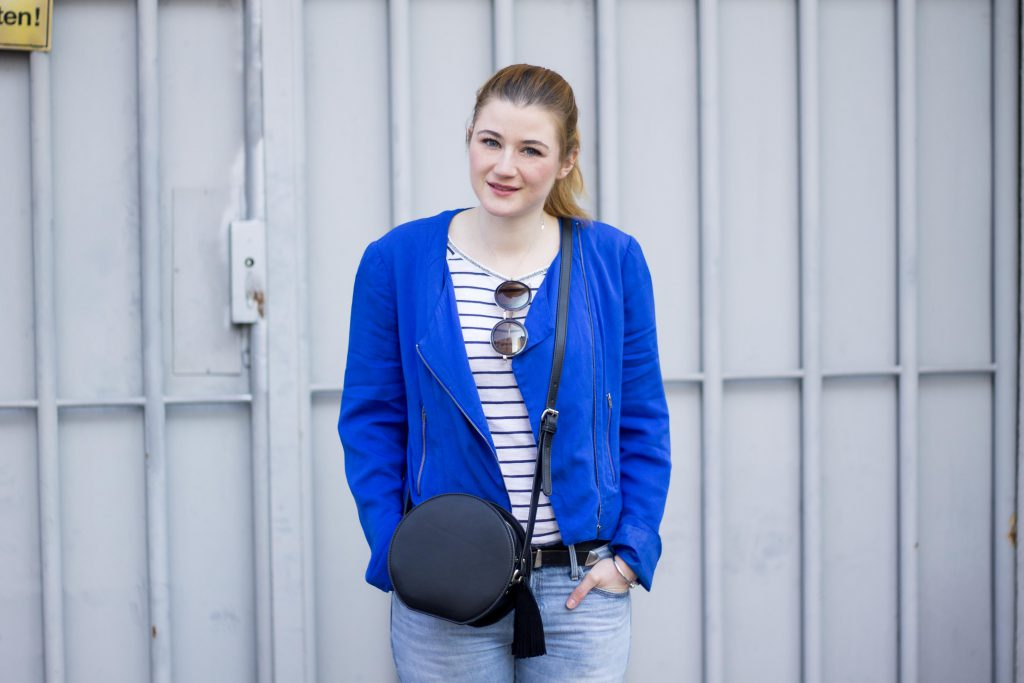 Jessika Fashion Outfit Post Style Blogger Germany Silver Sneaker Metallic Spring Look Zara Gap Jeans Boyfriend Asos H&M-8